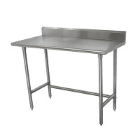 16 Gauge Standard Duty Top Work Tables with Open Base