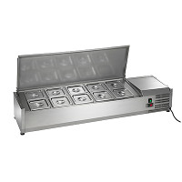 Refrigerated Pan Rails