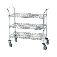 Dish Cleanup & Storage Carts