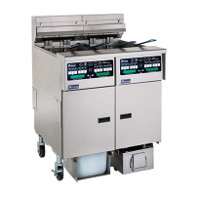 Electric Floor Fryers with Built-In Filtration System