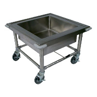 Mobile Soaking Sinks