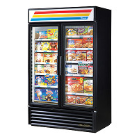 2 Section Glass Door Merchandiser Freezer