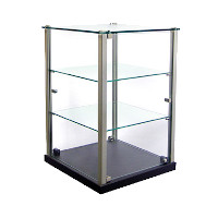 Vertical Bakery Display Cases & Revolving Bakery Display Cases