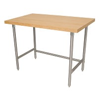 Wood Top Work Tables & Baker's Tables