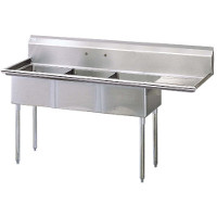 3 Compartment Sinks
