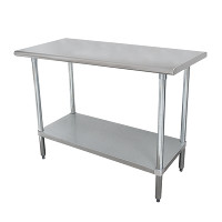 16 Gauge Standard Duty Top Work Tables with Undershelf