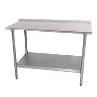 18 Gauge Economy Top Work Tables with Undershelf