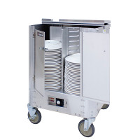 Mobile Heated Plate & Dish Dispensers