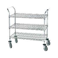 Dish Cleanup & Storage Carts