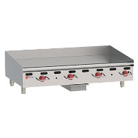 Heavy-Duty Gas Countertop Griddles