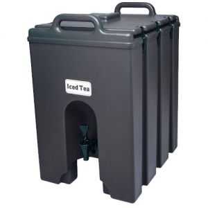 Cambro 1000LCD110 11-3/4 Gallon Camtainer Beverage Carrier (Black)