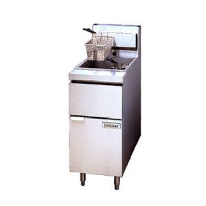 Anets 14GS Full Pot Floor Model Gas Fryer