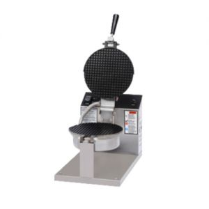 Gold Medal 5020ET Giant Waffle Cone Baker with Non-Stick Coating & Electronic Control