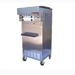 SaniServ 521 Soft Serve / Yogurt Freezer with Two 1 HP Dashers and Two 1 HP Compressors