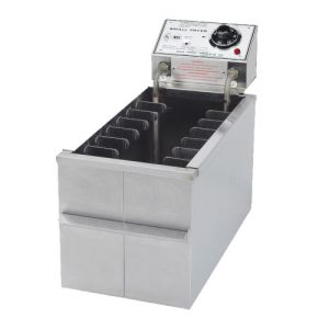 Gold Medal 8048D Small Electric Fryer with Drain