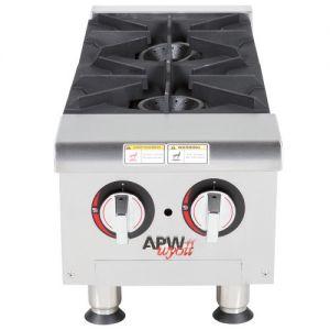 APW Wyott GHP-4S 4 Burner Gas Countertop Champion Hotplate