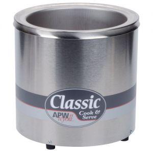 APW Wyott RCW-7 Countertop Food Pan Warmer/Rethermalizer - 7 Qt. Capacity