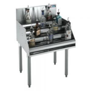 Krowne Metal KR19-18-7 Royal Series Underbar Ice Bin / Cocktail Unit with Built-In 7-Circuit Cold Plate