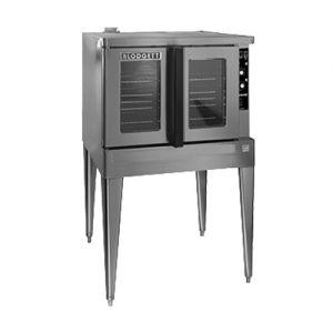 Blodgett ZEPH-200-G-ES SINGL Single Deck Full Size Bakery Depth Gas Convection Oven