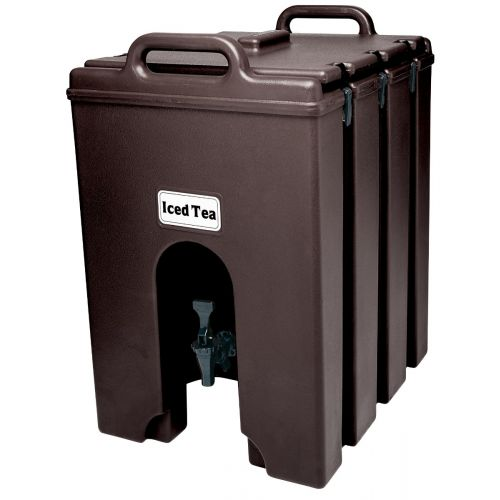 Cambro 1000LCD131 11-3/4 Gallon Camtainer Beverage Carrier (Dark Brown)