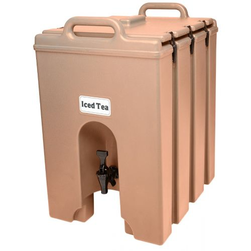 Cambro 1000LCD157 11-3/4 Gallon Camtainer Beverage Carrier (Coffee Beige)