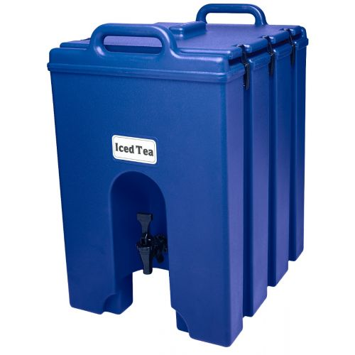 Cambro 1000LCD186 11-3/4 Gallon Camtainer Beverage Carrier (Navy Blue)