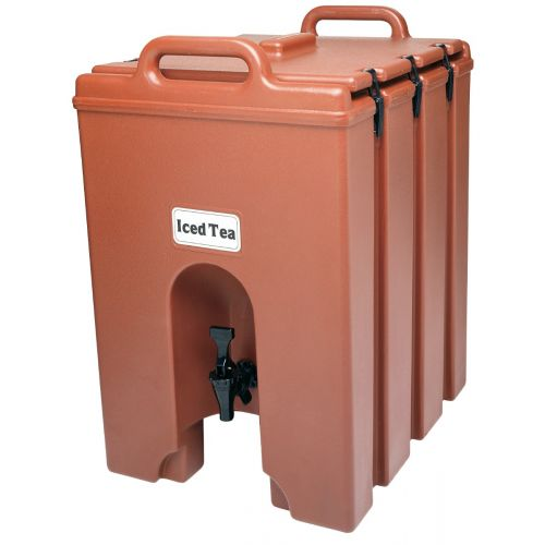Cambro 1000LCD402 11-3/4 Gallon Camtainer Beverage Carrier (Brick Red)