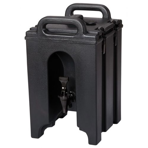 Cambro 100LCD110 1-1/2 Gallon Camtainer Beverage Carrier (Black)