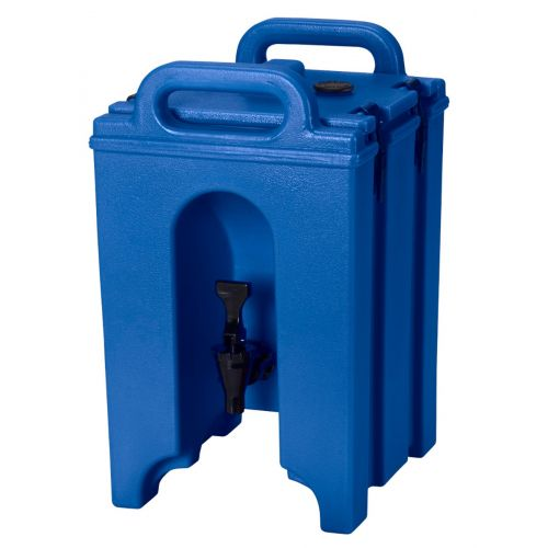 Cambro 100LCD186 1-1/2 Gallon Camtainer Beverage Carrier (Navy Blue)