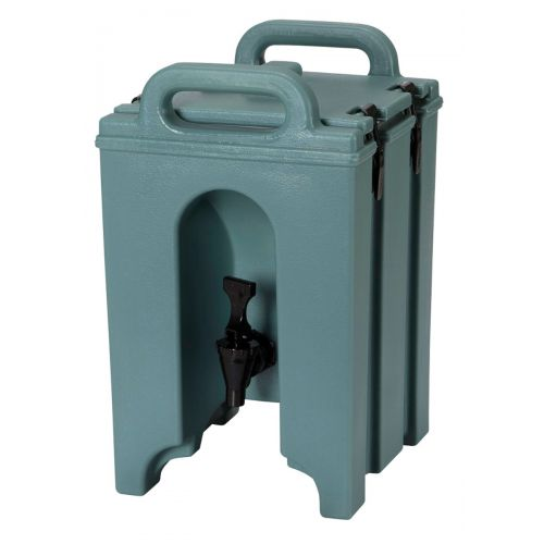 Cambro 100LCD401 1-1/2 Gallon Camtainer Beverage Carrier (Slate Blue)