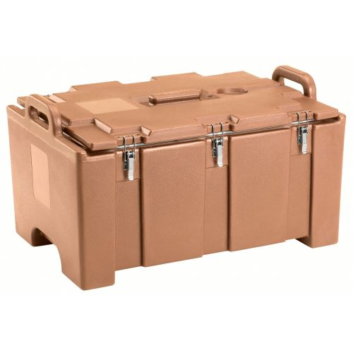 Cambro 100MPC157 Full Size Pan Capacity Camcarrier Food Carrier (Coffee Beige)