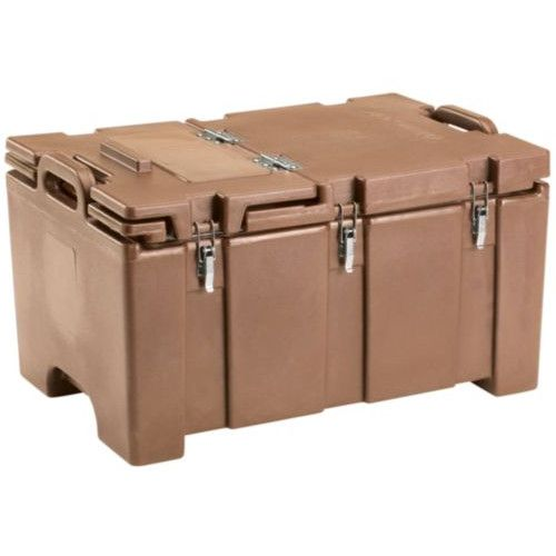 Cambro 100MPCHL157 Full Size Pan Capacity Camcarrier Food Carrier (Coffee Beige)