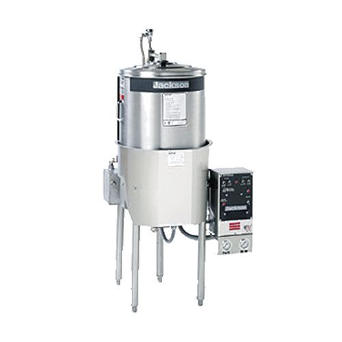 Jackson 10AB Round Doortype High Temperature Dish Machine with Built-In 6.5 kW Booster Heater - 1/2 HP
