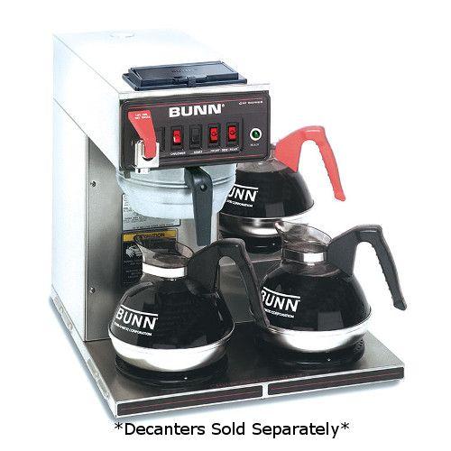 Bunn 12950.0409 CWTFDV-3 Automatic Dual Voltage Coffee Brewer