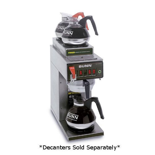 Bunn 12950.0410 CWTF-DV-3 Automatic Dual Voltage Coffee Brewer