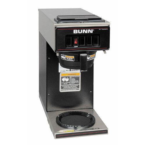 Bunn 13300.0011 VP17-1 Pourover Coffee Maker - Black Decor