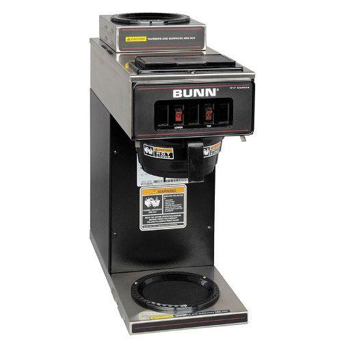 Bunn 13300.0012 VP17-2 Pourover Coffee Maker - Black Decor
