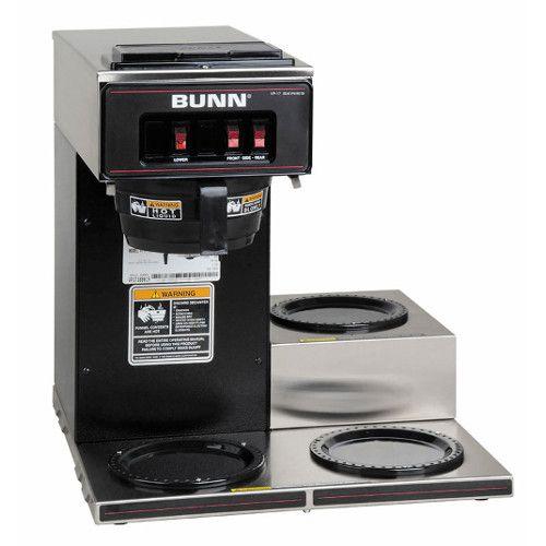 Bunn 13300.0013 VP17-3 Pourover Coffee Maker - Black Decor