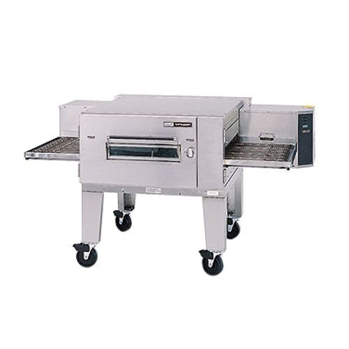 Lincoln 1600-000-U Natural Gas Single Deck Low Profile Impinger Conveyor Pizza Oven - 110,000 BTU