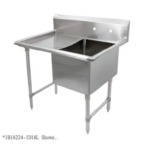 John Boos 1B184-1D18L One Compartment