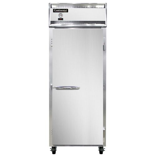 Continental Refrigerator 1FE-LT-SS Extra-Wide Low Temp Reach-In Freezer