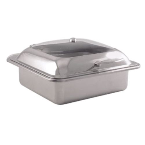 Spring USA 2174-6 Square Reflection Convertible Induction Buffet Server