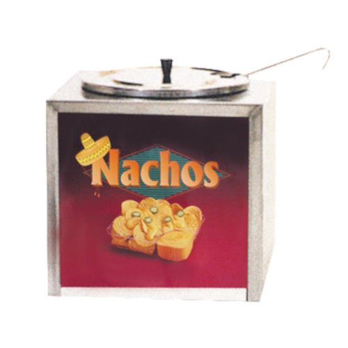 Gold Medal 2191 Nacho Cheese Dipper Style Warmer