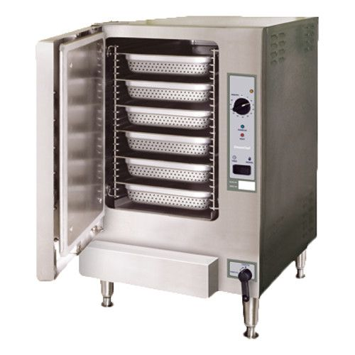 Cleveland 22CGT6.1 SteamChef™ 6 Convection Steamer, Auto Water