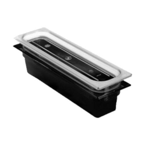 Cambro 22LPHP110 H-Pan Black High Heat Half Size Food Pan (6 per case)
