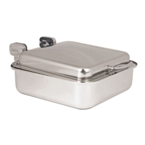Spring USA 2374-6 Square Reflection Convertible Induction Buffet Server