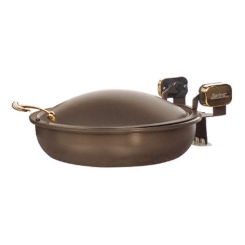 Spring USA 2382-567/36 Bronze Sauteuse Induction Buffet Server