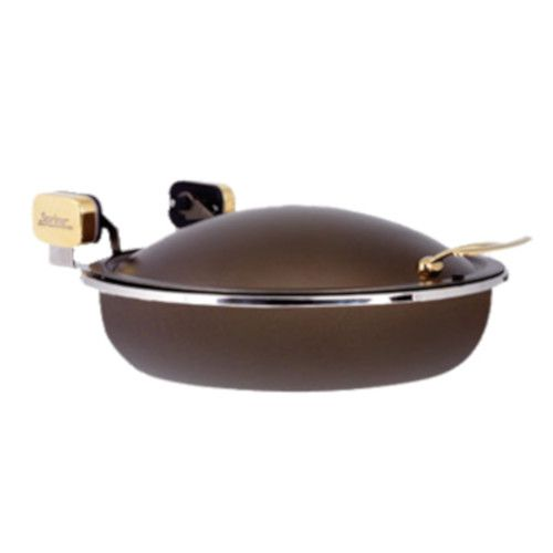 Spring USA 2382-597/36 Bronze Sauteuse Induction Buffet Server with Gold Accents