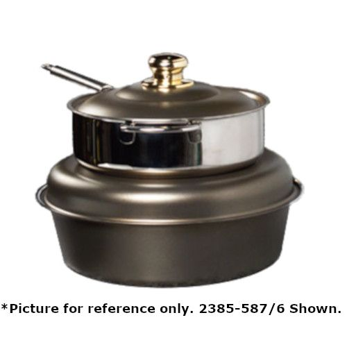 Spring USA 2385-88/6 Seasons Induction Soup Tureen with Black Pearl Accents