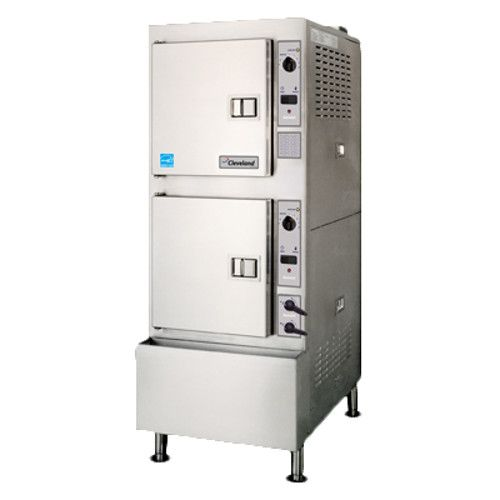 Cleveland 24CGA10.2 2 Compartment Gas Pressureless Convection Steamer